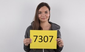 Czech Casting 7301 - 23 years old brunette Alena