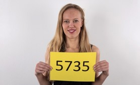 Czech Casting 5735 - 25 years old Misa