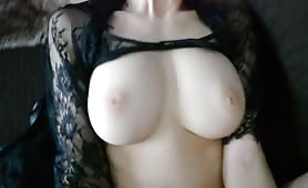 Busty chick fucked at home