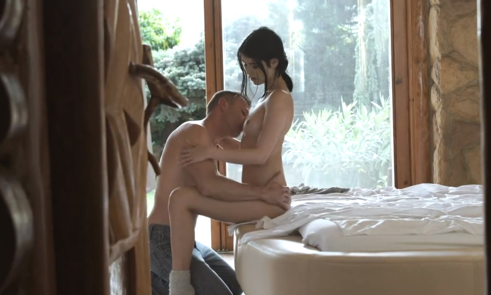 Slow and romantic fuck with Lady Dee