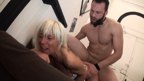 Old mature fucked by younger woman