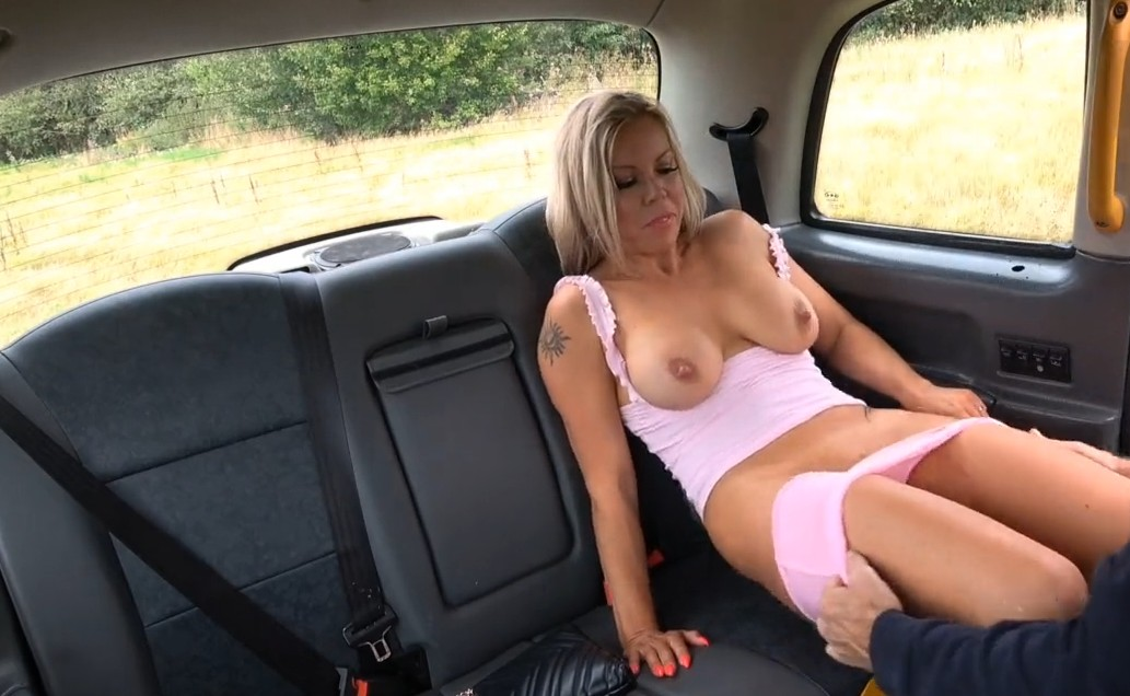 Fake Taxi - Hardcore fuck with busty mature blonde