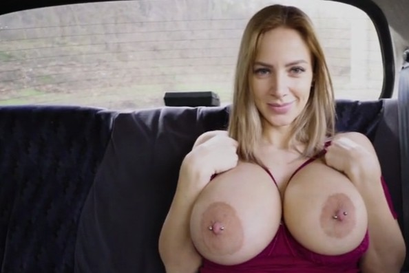 Fake Taxi - Busty beauty Nathaly Cherie loves his cum