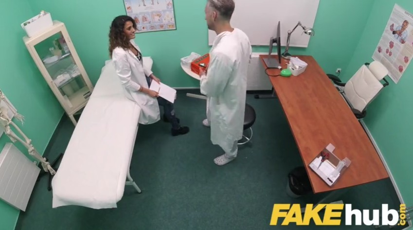 Fake Hospital - Horny doctor is fucking with his hot nurse