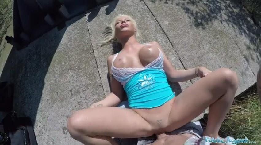 Public Agent - Mature blonde enjoys hardcore sex in public for money