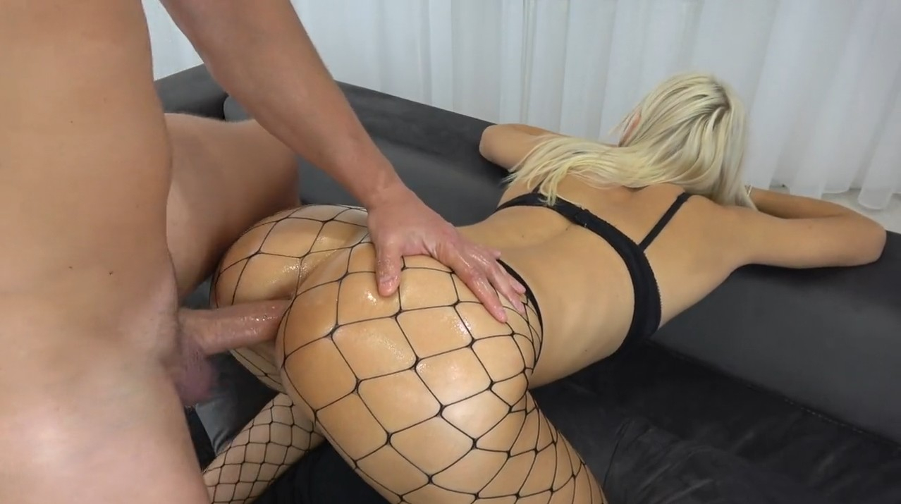 Anal with pretty college blonde