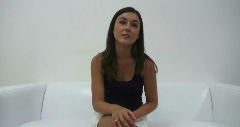 Czech Casting 2457 - Perfect teen Iva enjoys her first casting