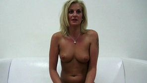 Czech Casting 2758 -Mature blonde Katka with perfect tits at casting