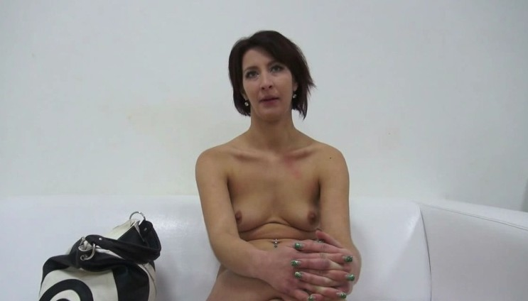 Czech Casting - Fucking with horny czech brunette milf