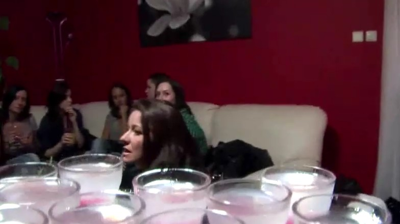Czech Parties - Brunette babes are ready to fuck at party