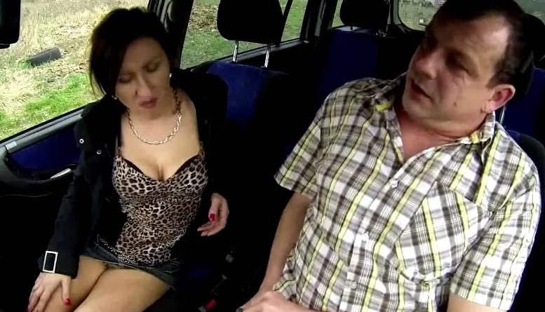 Czech Bitch - Mature czech slut fucked in car for money
