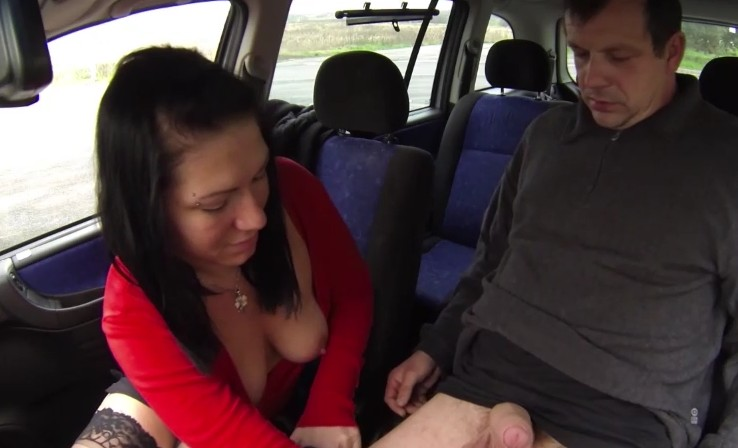 Czech Bitch - Czech whore takes care about clients dick