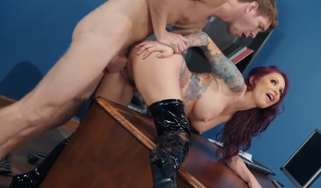 Brazzers - Sex on table with milf Monique Alexander