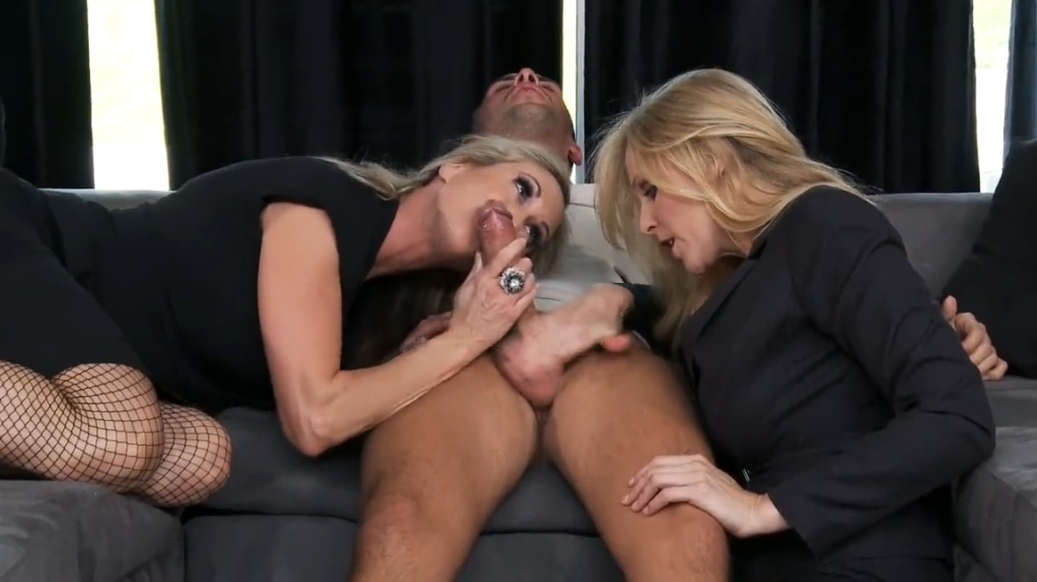 Brazzers - Brandi Love and Julia Ann enjoy perfect threesome