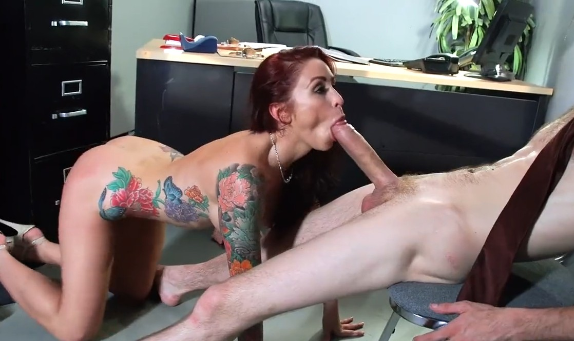 Brazzers - Monique Alexander gets the biggest cock she ever saw