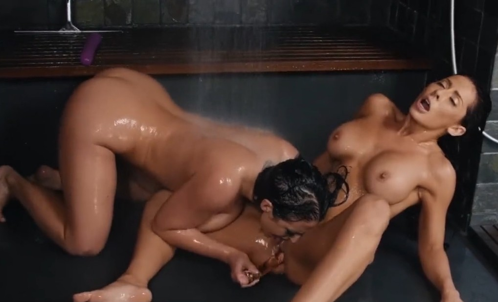 Brazzers - Horny lesbian babes Angela White and Madison Ivy are so hot