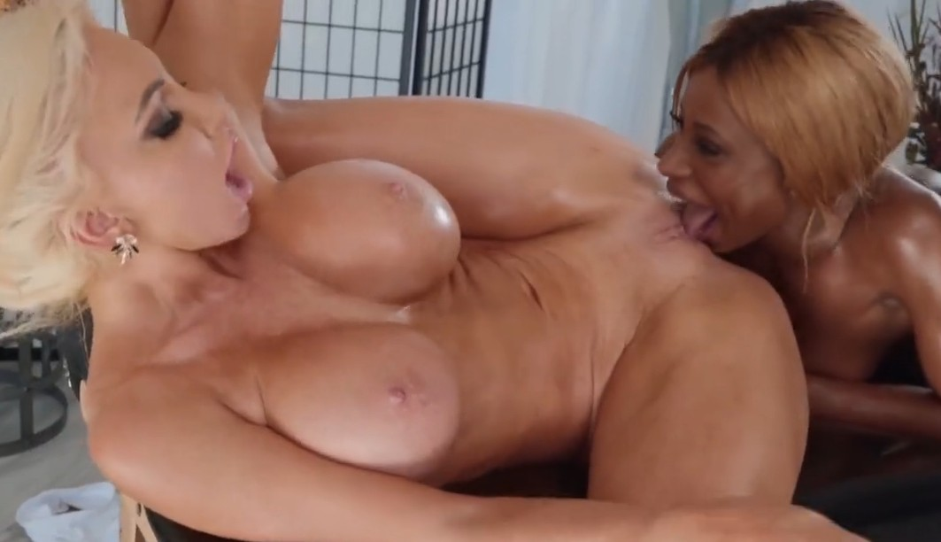 Brazzers - Lesbian ride with Kinsley Karter and Nicolette Shea