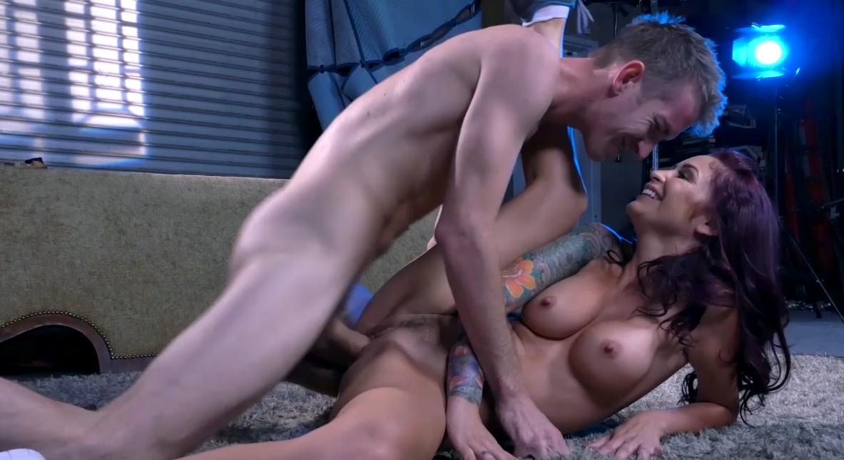 Day with a pornstar - Perfect fucking with tattooed brunette slut Monique Alexander