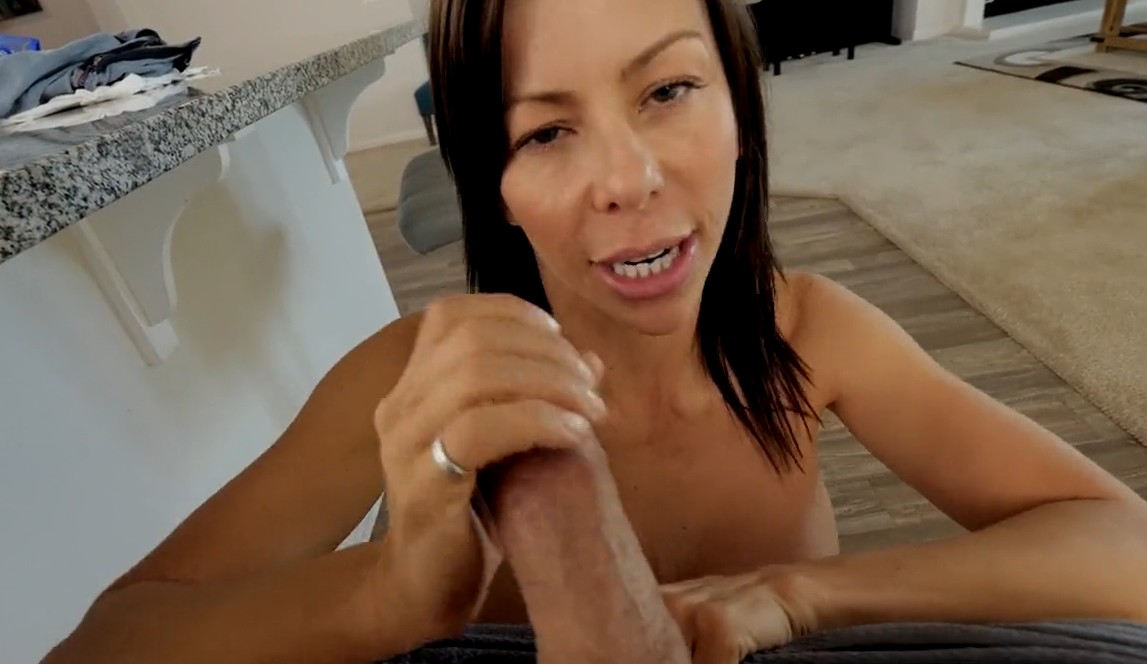 MomsTeachSex - Busty milf fucks with her stepson