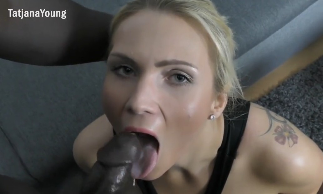MyDirtyHobby - Big black cock for horny blonde amateur