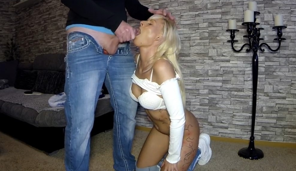 MyDirtyHobby - Blonde german milf is hungry for cum