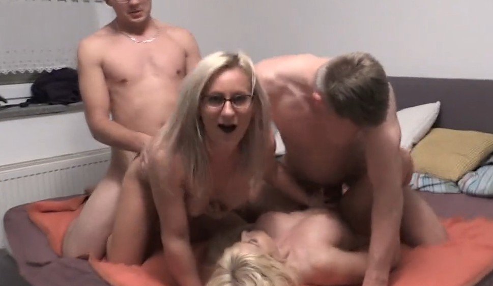 MyDirtyHobby - Horny couples enjoy hot foursome at home