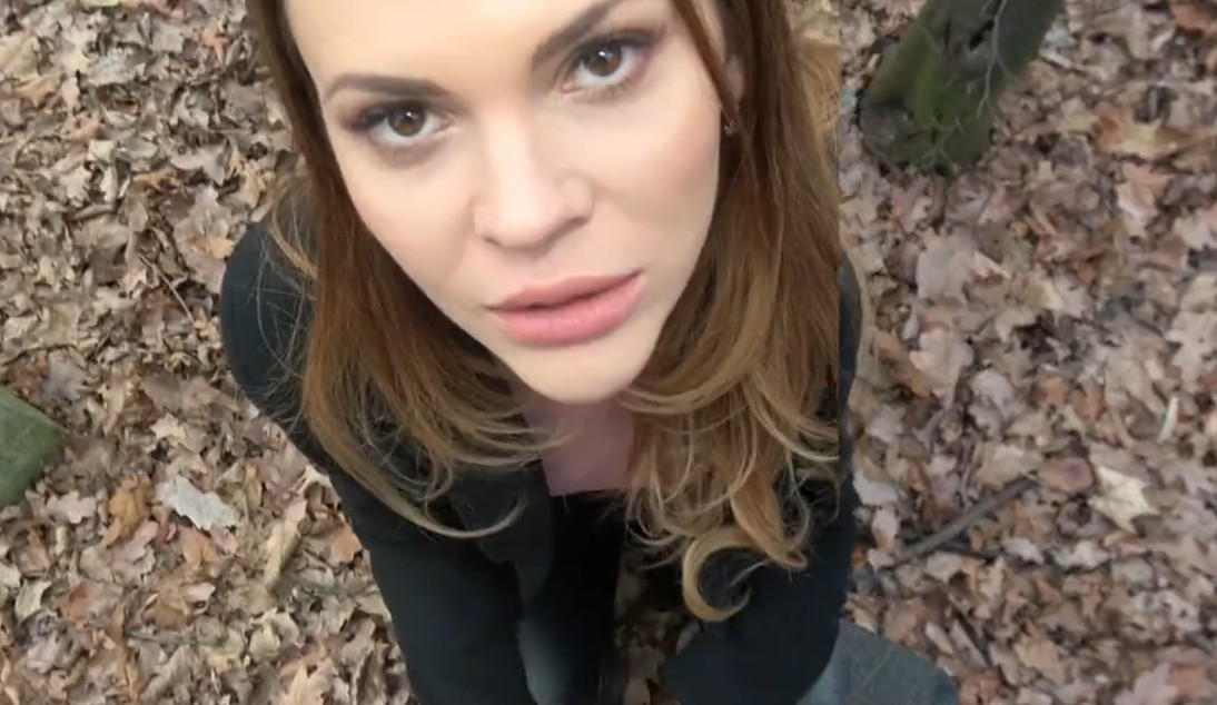 Blonde Russian Public Agent