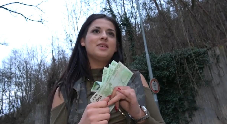 Public Agent - Serbian Beauty loves money