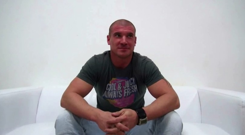 Czech Gay Casting - 27 years old Martin at gay casting