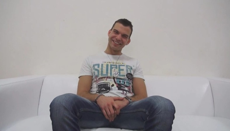 Czech Gay Casting 3487 29 years old Dalibor at gay casting