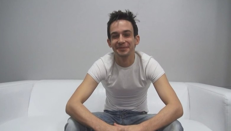 Czech Gay Casting 7714 - Lukas at gay casting