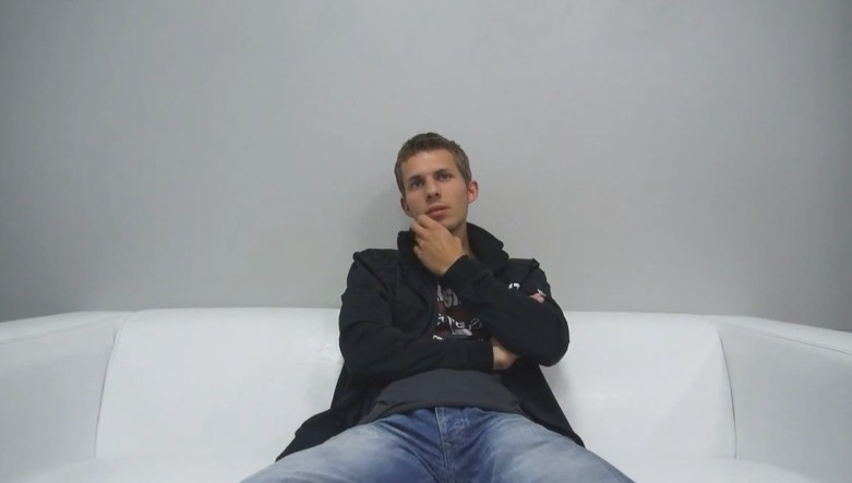 Czech Gay Casting - 24 years old Michal at gay casting