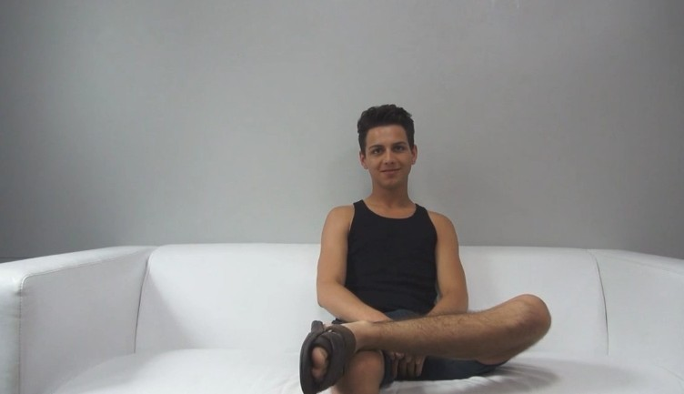 Czech Gay Casting - 21 years old Daniel at gay casting