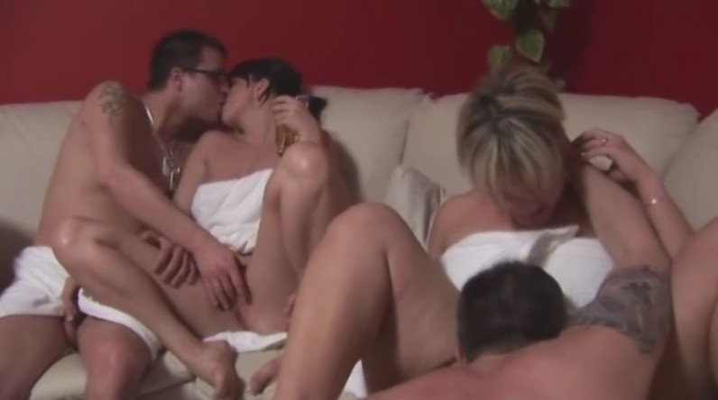 Czech Mega Swingers - Czech couples are fucking in biggest orgy