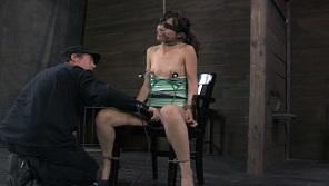 Kristine Clamps Bondage Fuck