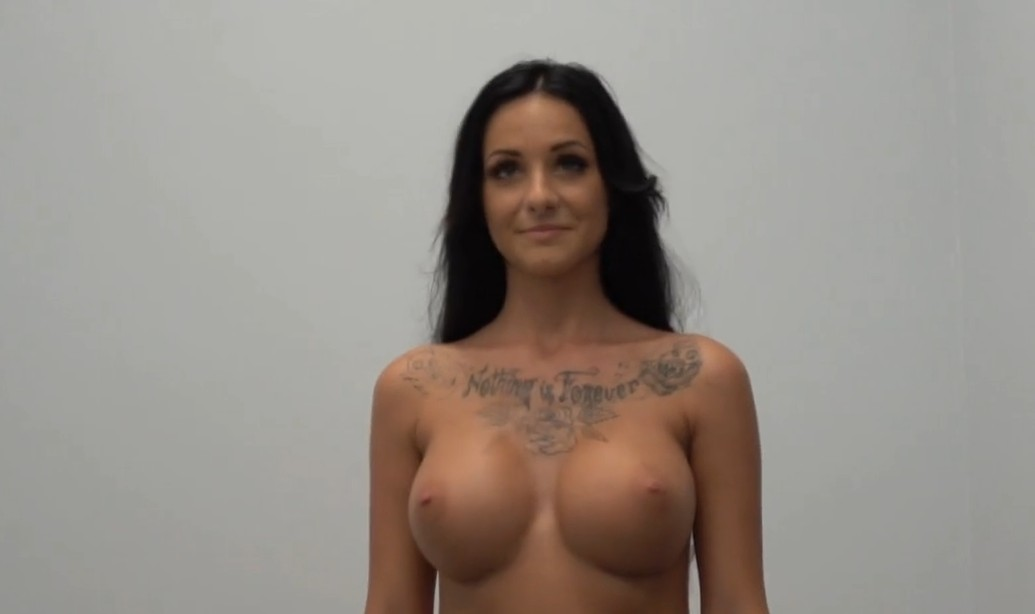 Fake Agent - Hot busty babe with fake tits in action