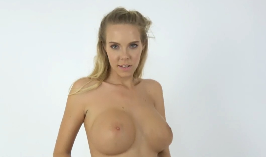 Fake Agent - Czech blonde with big boobies and her first porn casting