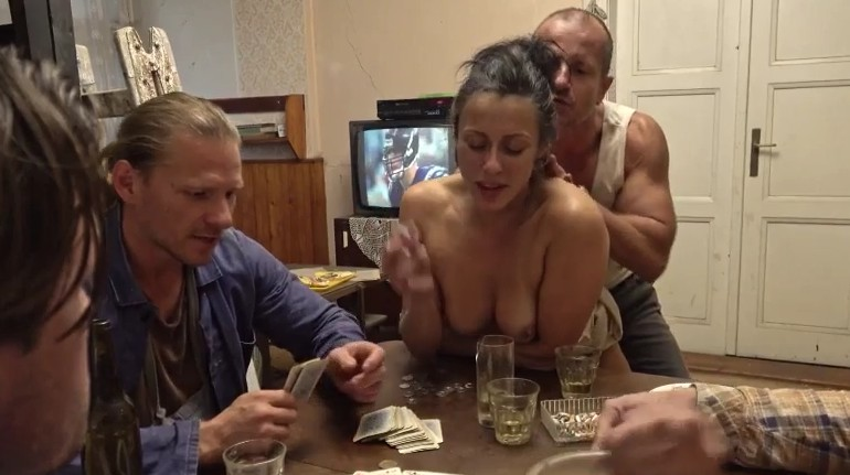 Perverse Family - Poker and hardcore fucking in this family