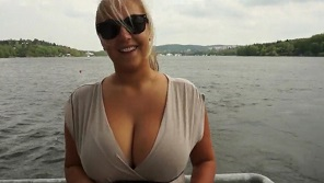 PublicPickUps - Hot czech babe with huge tits takes money for hardcore public fucking