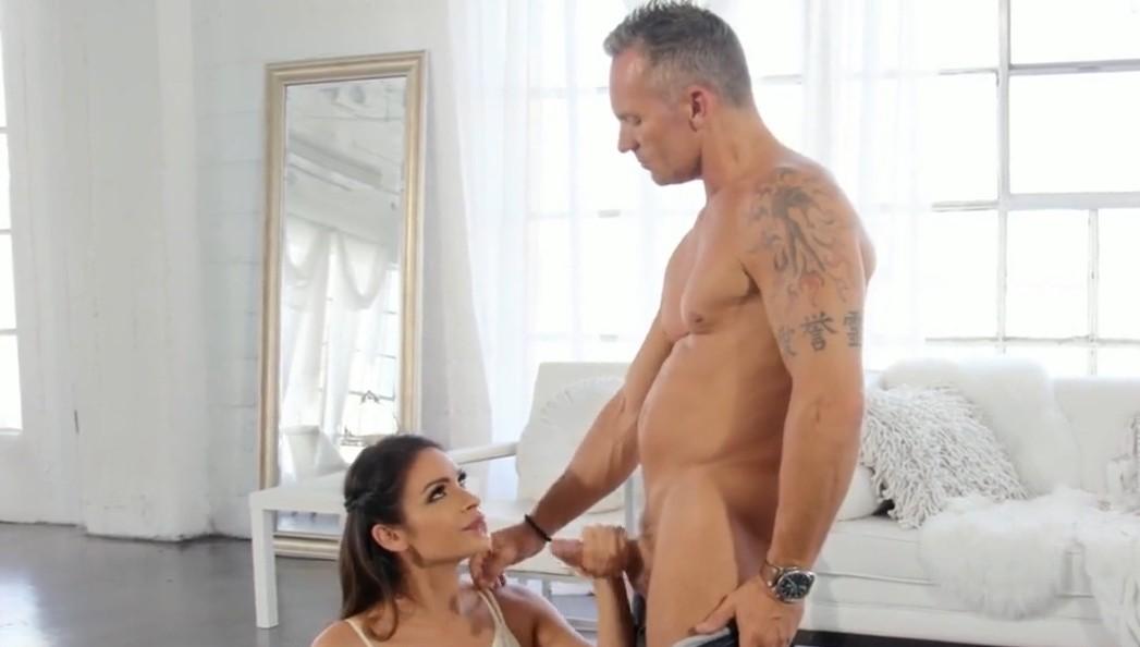 Hot scene with brunette Katana Kombat